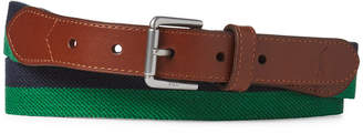 Polo Ralph Lauren Men Striped Twill Belt