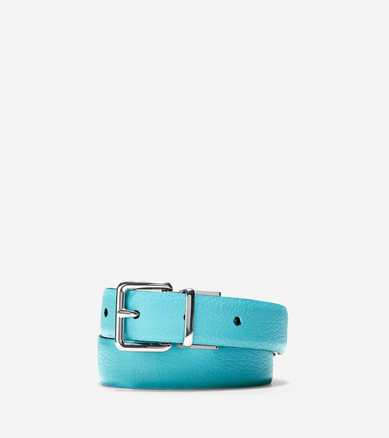 Cole Haan Reversible Pebble/Smooth Leather Belt