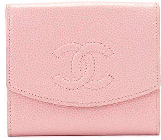 Chanel (シャネル) - Luxury Brands Vintage Bags & Accessories CHANEL レザー 二つ折りウォレット ピンク