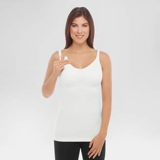 bravado! Basics bravado!TM BASICS Women's Slimming Nursing Cami with Removable Pads