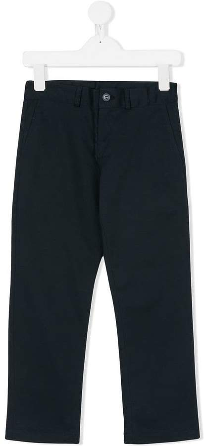 Amelia Milano straight-leg trousers