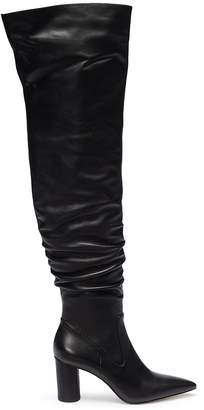 Pedder Red 'Henri' leather knee high boots
