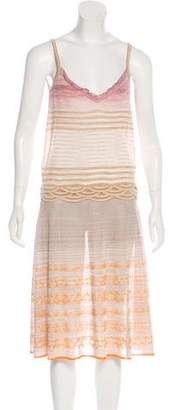 Missoni Metallic A-Line Dress