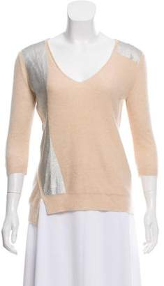 Reed Krakoff Cashmere Long Sleeve Sweater