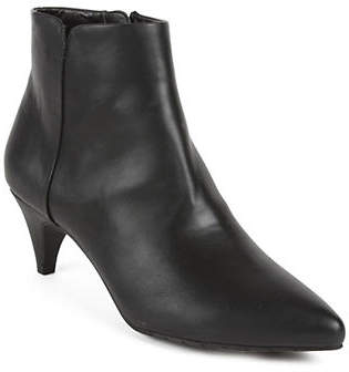 Kenneth Cole Reaction Kick Bit Point-Toe Booties