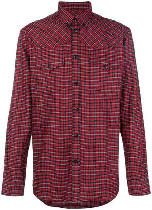 Givenchy checked buttondown shirt