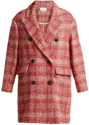 Etoile Isabel Marant Ebra double-breasted wool-blend coat