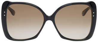 Gucci Black Oversized Butterfly Sunglasses