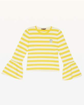Juicy Couture Awning Stripe Jersey Top for Girls