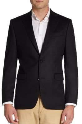 Saks Fifth Avenue BLACK Slim-Fit Cashmere Sportcoat