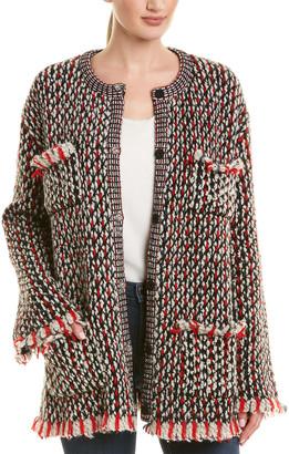 Gucci Wool & Mohair-Blend Jacket