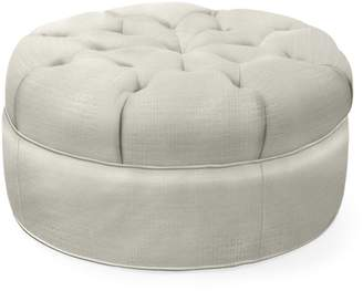 """Serena & Lily Hingham Tufted Ottoman - 27"""""""