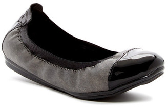 Easy Spirit Ginelle Cap Toe Flat $69 thestylecure.com