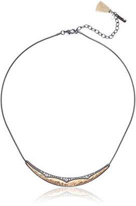 lonna & lilly Moonlight Women's 16In Frontal Two: Gold/Hem/Cry Pendant Necklace