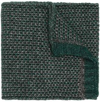 Ermenegildo Zegna long chunky knit scarf