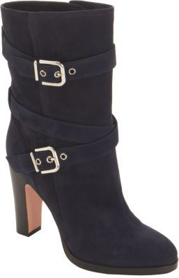 Gianvito Rossi Mid-Calf Motorcycle Boot
