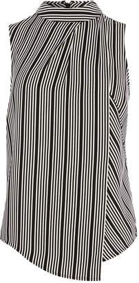 Karen Millen Sleeveless Striped Top