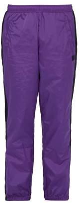 Acne Studios Phoenox Technical Track Pants - Mens - Purple