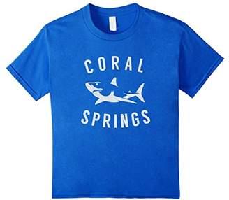 Coral Springs Florida T Shirt Shark FL Souvenirs