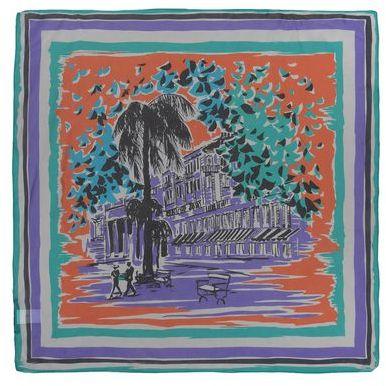 Alberta Ferretti Square scarf