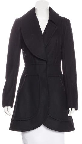 Alice + Olivia Alice + Olivia Wool Structured Coat