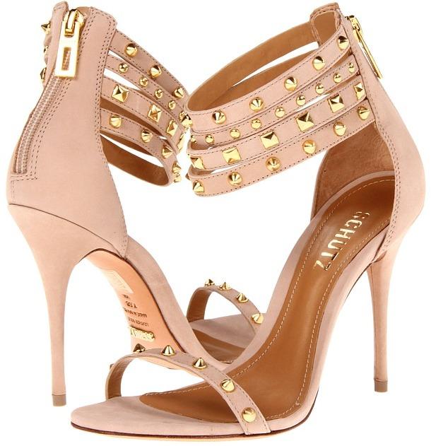 Schutz Diadema (Oyster) - Footwear