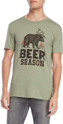Lucky Brand Beer Season Tee