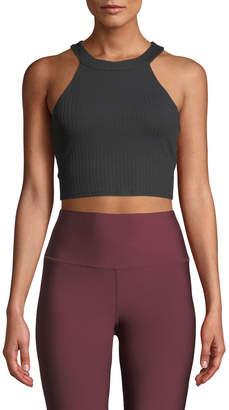 Alo Yoga Unite Cropped Activewear Tank Bra