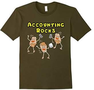Accounting Rocks For Dark Shirts Funny Occupation T-Shirt