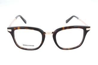 DSQUARED2 Unisex Adults' Brillengestelle DQ5137 055-49-20-145 Optical Frames