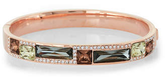 Vince Camuto Rose Gold-Tone Gem Drops Bangle
