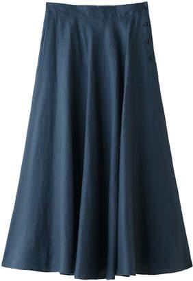 Heliopole (エリオポール) - エリオポール 40リネンバイヤスミディ丈スカート
