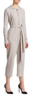 Gentry Portofino Hooded Cashmere Jumpsuit