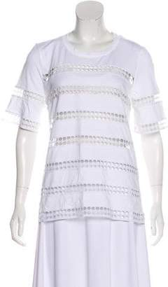 Chloé Jersey Short Sleeve Top