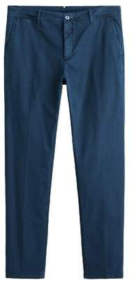 Mango man MANGO MAN Slim-fit patterned trousers