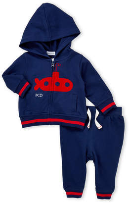 Absorba Newborn Boys) Two-Piece Submarine Hoodie & Joggers Set