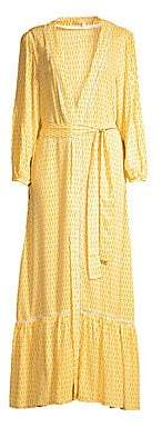 Paloma Blue Women's Bowie Kimono Maxi Dress