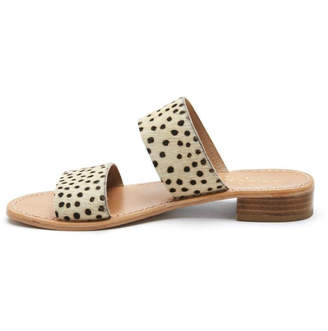 Coconuts by Matisse Limelight Leopard Slide