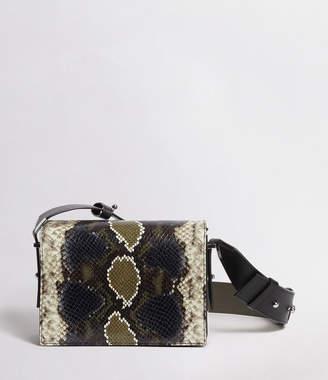 AllSaints Versailles Small Leather Shoulder Bag