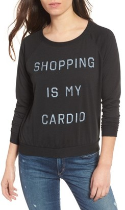 Women's Prince Peter Shopping Is My Cardio Tee $80 thestylecure.com