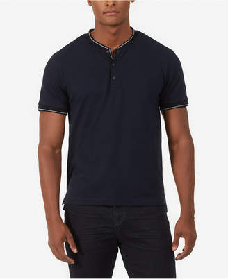 Kenneth Cole New York Solid Henley Shirt