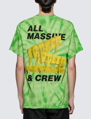 10.Deep Massive Tie Dye S/S T-Shirt