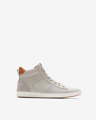 Express Perforated High Top Sneakers