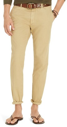 Polo Ralph Lauren Tailored Pima Cotton Slim Fit Chinos $145 thestylecure.com