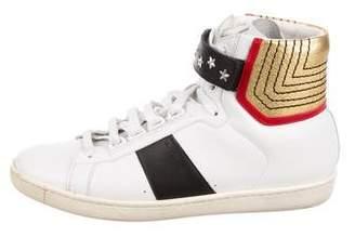 Saint Laurent SL/14H High-Top Sneakers