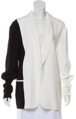 Baja East Bicolor Shaw Collar Blazer w/ Tags