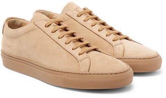 Common Projects Original Achilles Nubuck Sneakers - Men - Tan