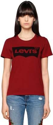 Levi's Printed Logo Cotton Jersey T-Shirt