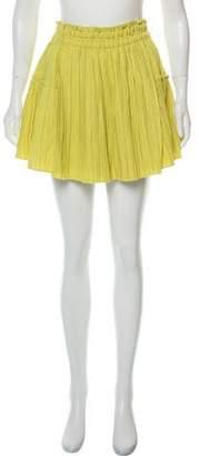 Apiece Apart Plisse Mini Skirt w/ Tags