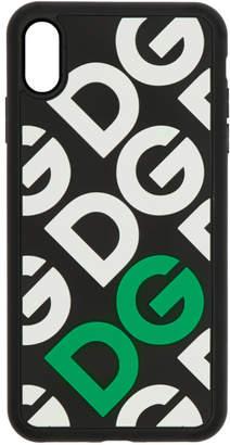 Dolce & Gabbana Black Logo Mania iPhone XS Max Case